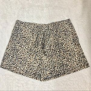 New Animal Print Shorts size Medium